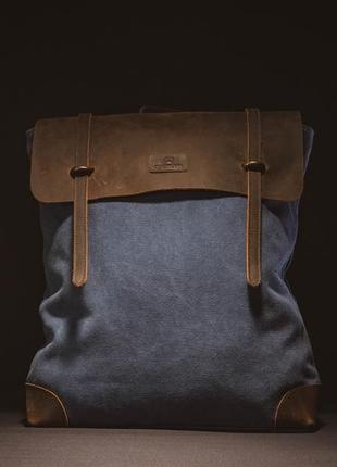 Городской рюкзак водоотталкивающий котомка от rootless blue