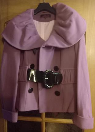 Пальто укороченное весенее