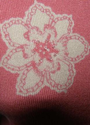 Кардиган цветы m-l-размер
