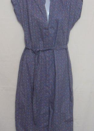 Платье женское цветное, хлопок, 44 р-р. Дешево Материал  - хлопок