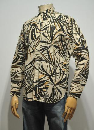 Лляна сорочка mango man - m