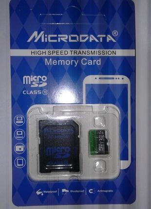 Карта памяти 32 Гб, Брэнд Microdata