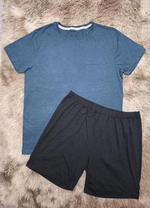 Отличный комплект для дома и сна, пижама livergy р. м/l 48-50