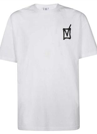 Белая футболка  vetements  | футболка vetemens