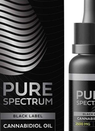 CBD конопляное масло PureSpectrum, 2500мг, каннабидиол, КБД США