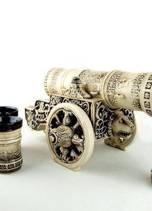 Подарочный набор Царь-пушка, набор для спиртного, крутой подар...
