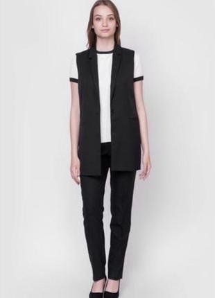 Удлиненный жилет и брюки arber