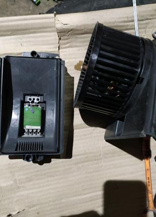 Резистор пічки пассатт б5