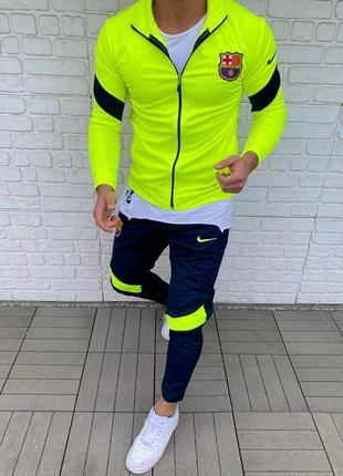 Спортивный костюм мужской nike fcb / спортивний комплект чолов...