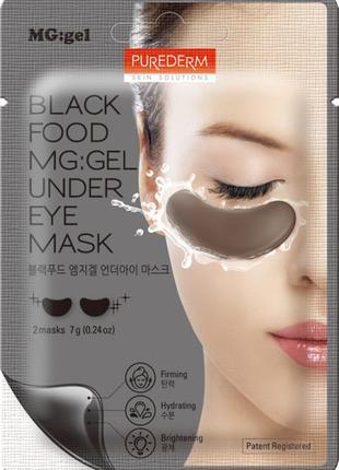 Патчи гидрогелевые для кожи под глазами purederm