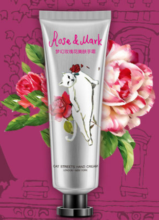 Bioaqua питательный крем для рук rose & mark 🌹