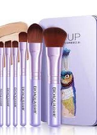 Набор из 7 кистей для макияжа bioaqua