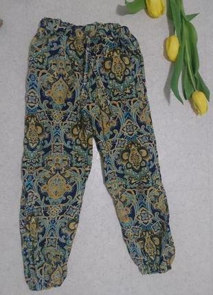 Укороченные штаны в восточном стиле