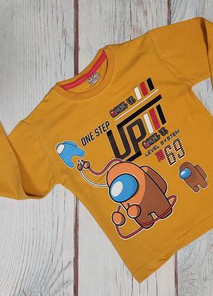 Детская кофта реглан для мальчика 3-7 лет among us