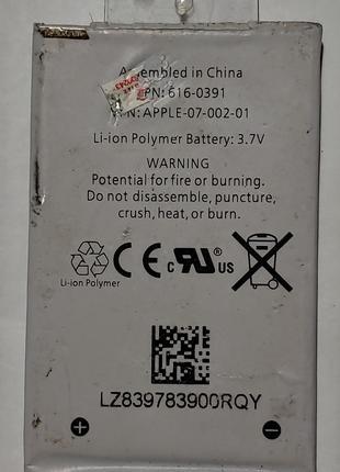 Аккумулятор Батарея Apple Iphone 3g 616-0391