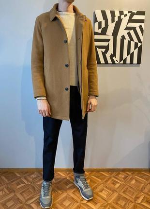 Selected wool coat, шерстянное мужское пальто