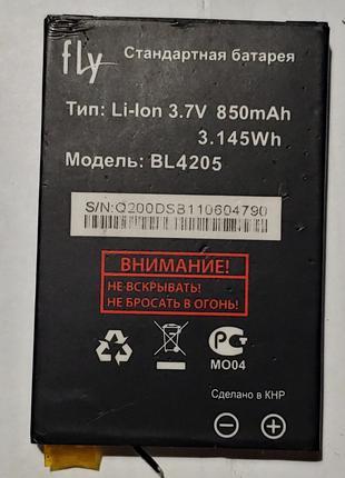 Аккумулятор Батарея Fly BL4205