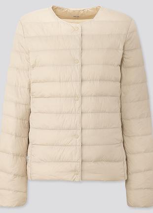 Куртка uniqlo ультра легкая на пуху