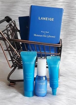 Laneige water bank moisture kit набор миниатюр