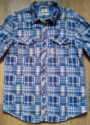 Мужская рубашка Lee, размер XL