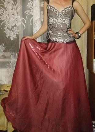 #розвантажуюсь вечерняя юбка