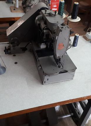 Промышленная петельная машина 25 класса; Пуговичная 27 класса ПЗМ