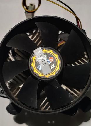 Производительный кулер Titan Cooler 775 сокет 775 на клипсах