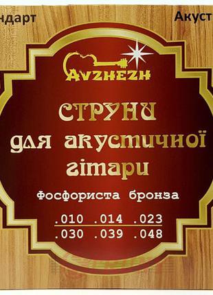 Струни акустична гітара Avzhezh ASP1048 10/48