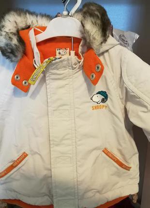 Куртка h&m snoopy 62 см. для дитини