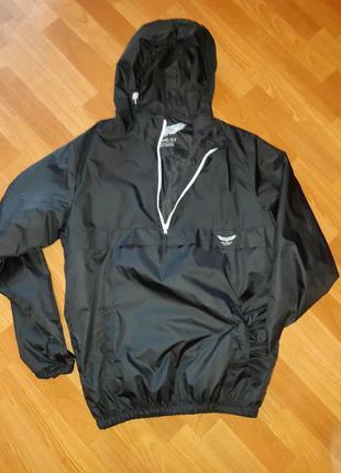 Анорак мужская стильная куртка ветровка дождевик