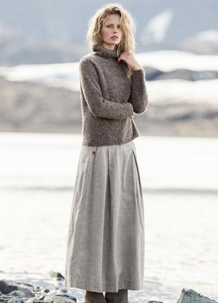 Franco callegari: льняная юбка