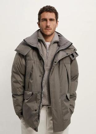 Zara куртка парка  мужская