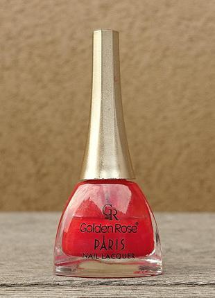 Лак для ногтей golden rose paris - 96