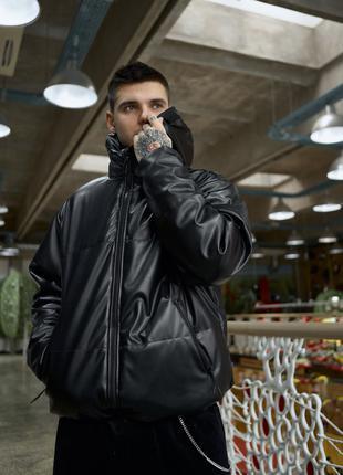 Куртка демисезонная мужская Yard из экокожи