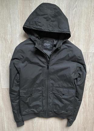 Primark m весенняя  куртка с капюшоном оригинал