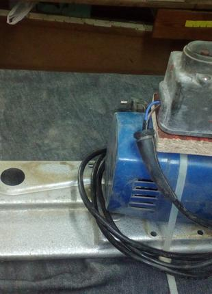 электродвигатель на самодельный наждак