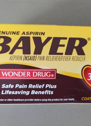 Bayer аспирин 325 мг 100 таблеток.