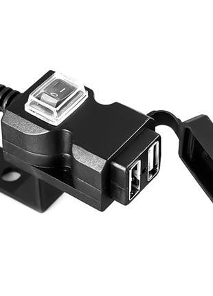 USB зарядка на руль мотоцикла