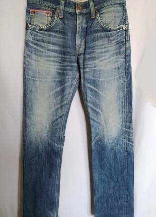 Мужские японские джинсы селвидж edwin