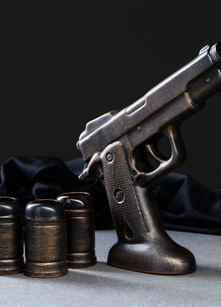 """Пистолет """"Пустынный Орел"""", набор для спиртного, Дигл, Магнум"""