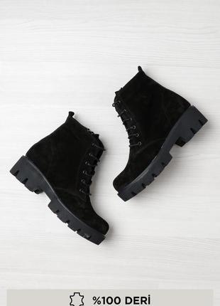 Крутые замшевые ботинки 2019 брендовая обувь