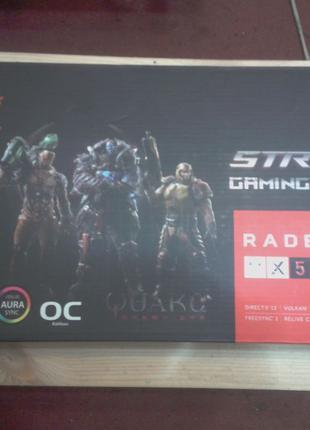 Видеокарты RX570 (470, 480, 580) Rog Strix Gaming 4GB/8GB Б/У
