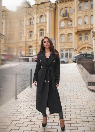 😻трендовое удлиненное демисезонное пальто