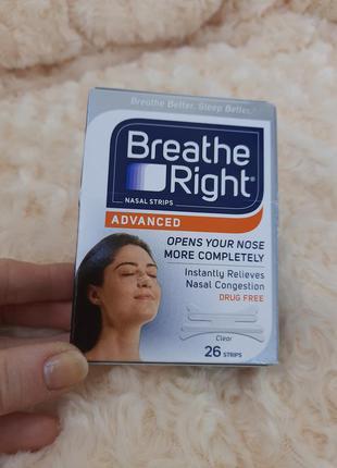 Breathe right полоски пластырь от храпа