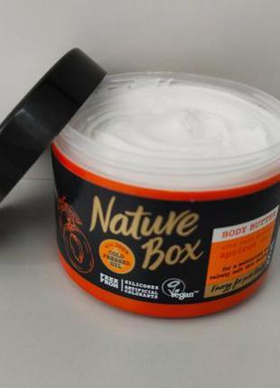 Nature box body butter супер увлажняющее масло крем для тела и...
