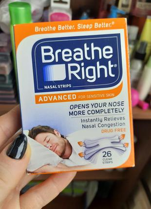Breathe right полоски пластырь от храпа для легкого дыхания дл...