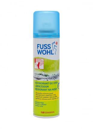 Fusswohl schuh deo дезодорант освежитель спрей для ног и обуви...