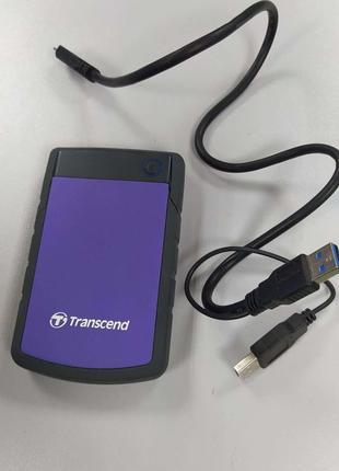 Внешний жесткий диск Transcend StoreJet 25H3P 1 ТБ