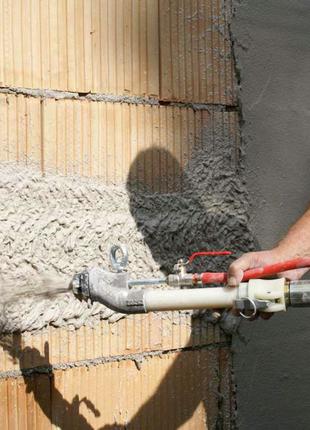 Штукатурка стін Київ, Машинна штукатурка