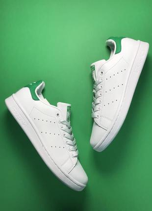 🔥 adidas stan smith white green